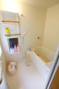 A bathroom at Villa Komakusa