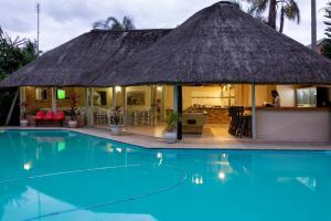 The swimming pool at or near St. Lucia Safari Lodge