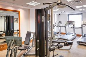 The fitness center and/or fitness facilities at Staybridge Suites Liverpool