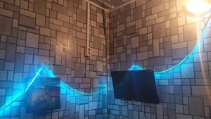 A bathroom at Студия на сутки