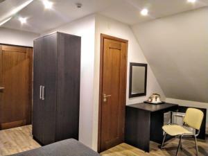 Кровать или кровати в номере Mini-hotel Anhalt