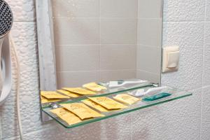 A bathroom at Moscow Comfort Hotel