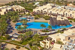 A bird's-eye view of Miramar Al Aqah Beach Resort