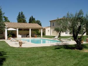 The swimming pool at or near La Bastide d'Andrea