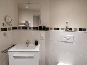 Ein Badezimmer in der Unterkunft Ferienwohnungen Blum