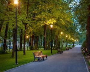Сад в Tulip Inn Sofrino Park Hotel