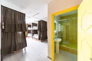 Ванная комната в Uley Hostel