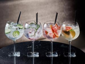 Drinks at Cinnabar Hotel