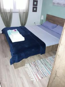 A bed or beds in a room at Apartman - Sea&Nature - Krk
