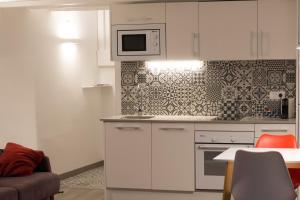 Una cocina o zona de cocina en Plaça Forum - Aeris