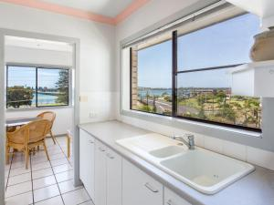 A bathroom at Oxley 8 at Tuncurry