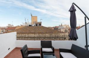 Un balcón o terraza de Plaça Forum - Aeris