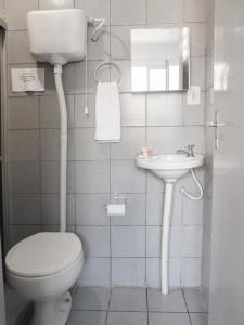 A bathroom at Pousada Atlantico Centro - Fortaleza