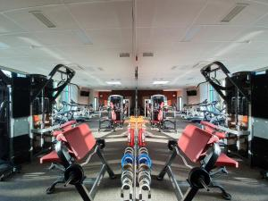 The fitness center and/or fitness facilities at Toila Spa Hotel