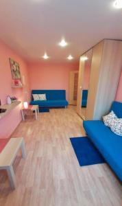 Гостиная зона в Apartment on Lenina 8