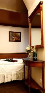 Een bed of bedden in een kamer bij Prague Golden Age