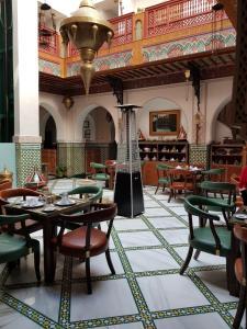 Restaurant ou autre lieu de restauration dans l'établissement Palais Zahia Hotel & Spa