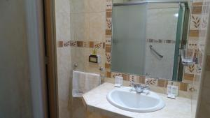 A bathroom at Suites Larco 656 Miraflores Lima