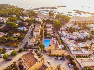 A bird's-eye view of Villaggio Cala Mancina