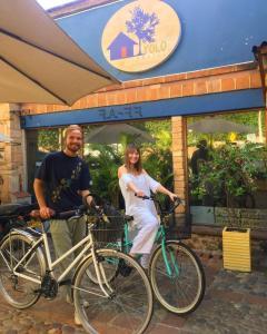 Vélo sur le terrain de l'établissement Yolo Hostel Medellin ou dans les environs