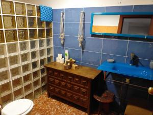 Un baño de Guest House Solidaria - Stop For Social Inclusion