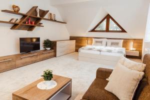Posezení v ubytování Villa Silvia