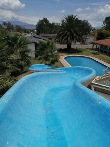 The swimming pool at or near Hosteria San Carlos Tababela