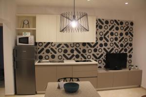 A kitchen or kitchenette at Villa Elizabeta