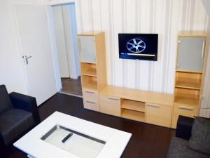 TV/Unterhaltungsangebot in der Unterkunft AB Apartment Objekt 63