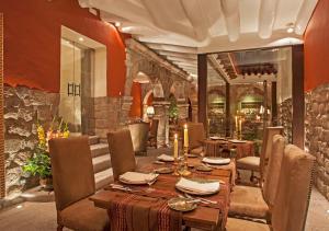 Restaurant ou autre lieu de restauration dans l'établissement Inkaterra La Casona Relais & Chateaux