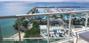A bird's-eye view of Cloc Marina Residence