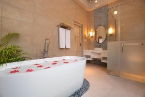 A bathroom at Bandos Maldives