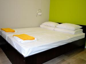 A bed or beds in a room at Clean Hostel na Borsoeva