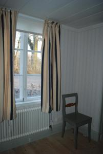 En sittgrupp på Kristbergs Rusthåll