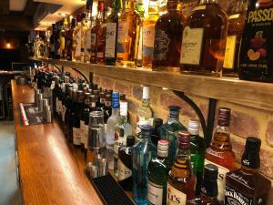 Drinks at The Greyhound Inn