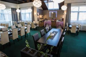 Restaurace v ubytování A-Sport Hotel