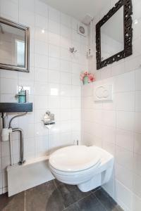 Een badkamer bij Beach House Zandvoort