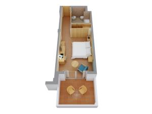 The floor plan of Elba Carlota Beach & Convention Resort