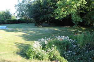 A garden outside La Batonnerie