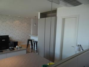 A kitchen or kitchenette at AP JUNTO AO SHOPPING BARRA SUL