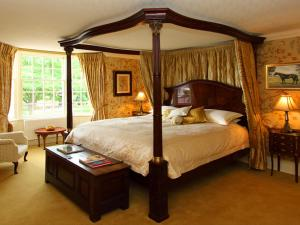 A bed or beds in a room at Porch House