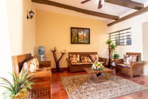 Zona de estar de Hotel Casa Rico