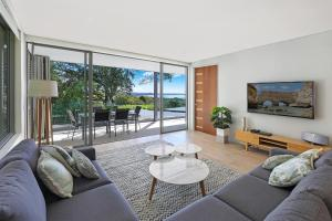A seating area at The Rise Noosa