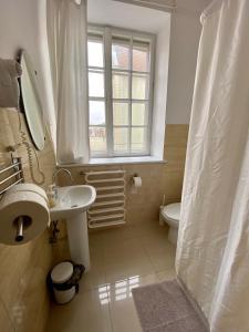 A bathroom at Grand Guesthouse Apartament