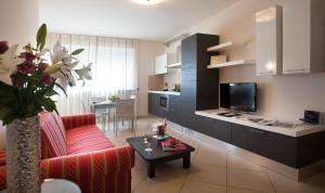 Area soggiorno di Residence Calissano