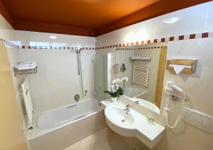 A bathroom at Hotel Eberle