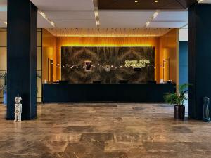 The lobby or reception area at Grand Hotel de Kintele -The Leading Hotels of the World