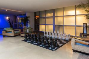 The fitness center and/or fitness facilities at Z Ocean Hotel South Beach
