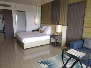 A bed or beds in a room at The Resort