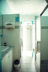 Um banheiro em Posada Tambuca
